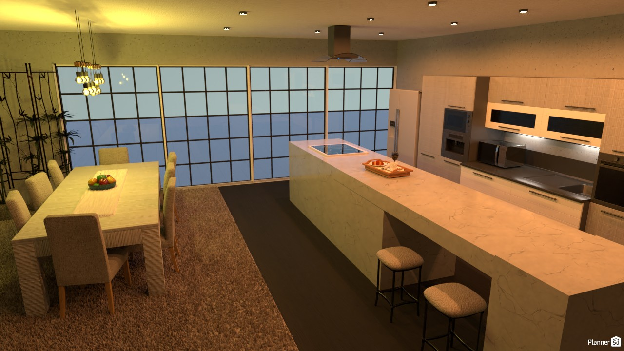 kitchen and dining room 3739496 by Junior Alves image
