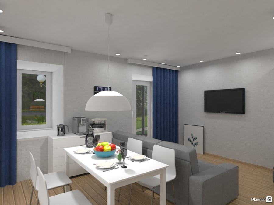Дизайн кухни студии - Apartment ideas - Planner 5D