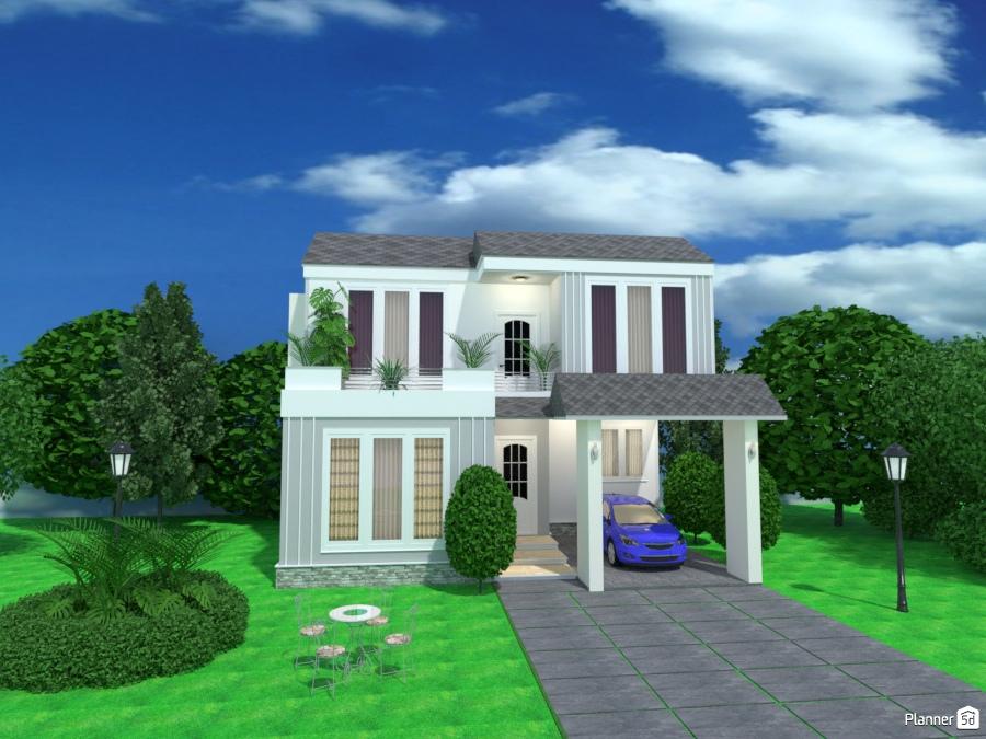 Casa Pequeña Familiar House Ideas Planner 5d