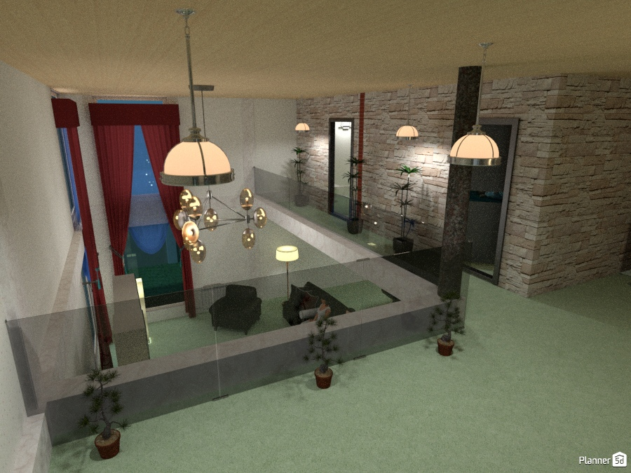 2nd floor , House ideas , Planner 5D