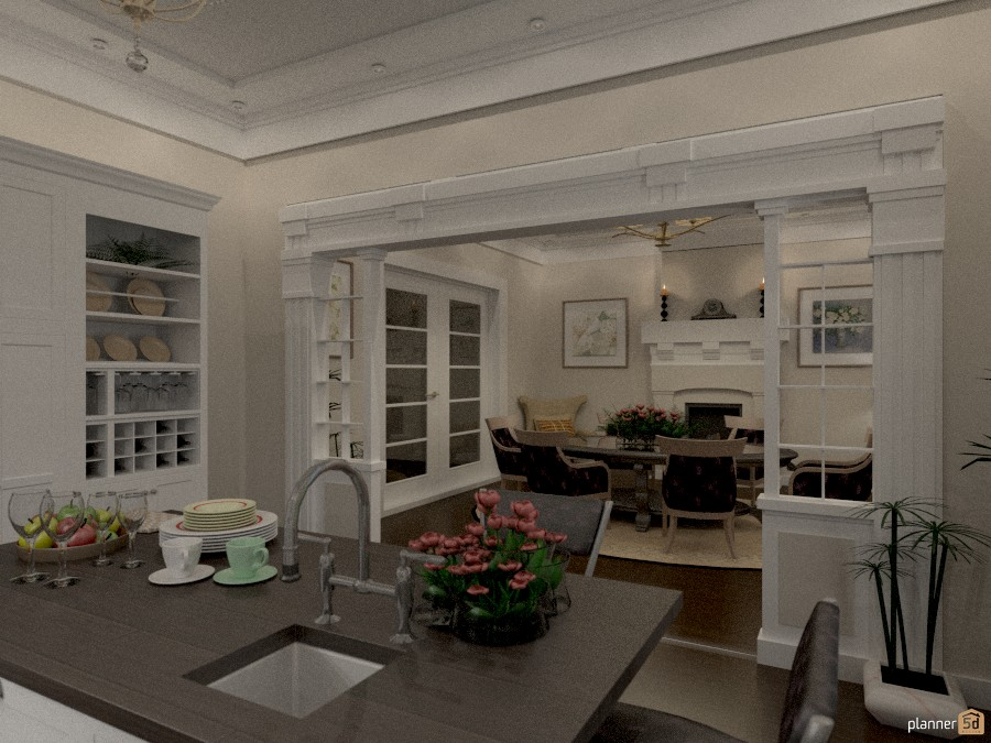 vista dalla cucina - Apartment ideas - Planner 5D