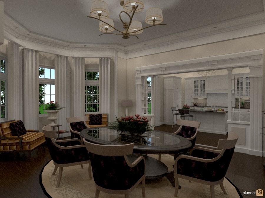 sala pranzo con cucina - Apartment ideas - Planner 5D