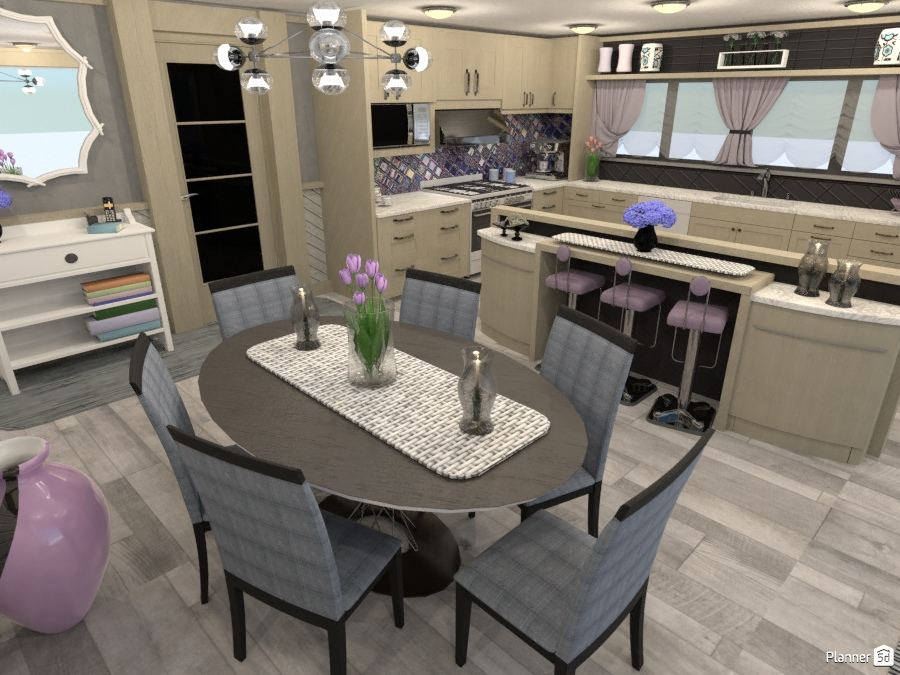 Light Timber Kitchen dining 2353295 by Wilson image