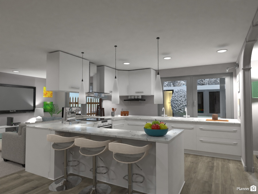 Modern Kitchen 2715837 by Nic image