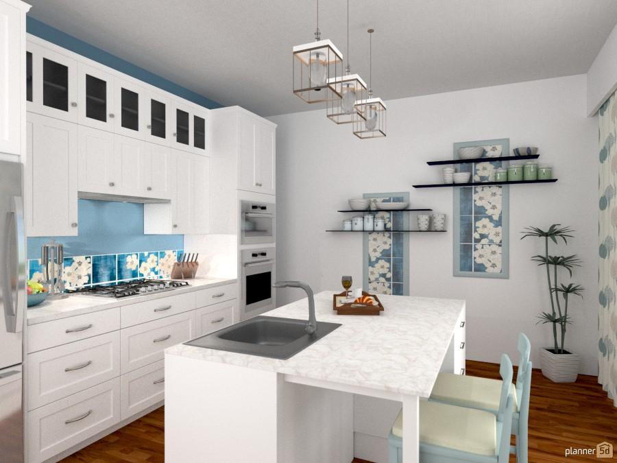 Motivi di blu (cucina) 1174603 by Svetlana Baitchourina image