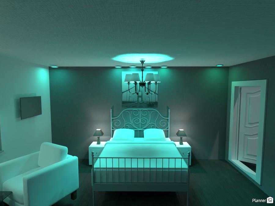 WHITE MASTER BEDRROM! 82642 by Huzaifah Shaikh image