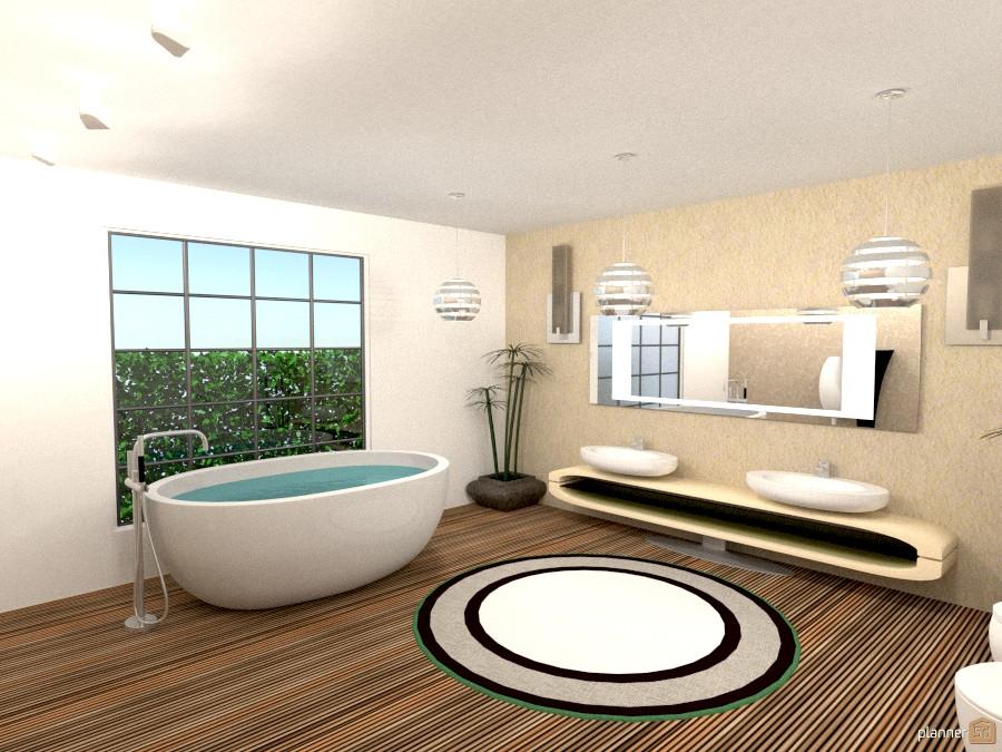 Classic modern bathroom apartment ideas planner 5d for Bathroom design 5d