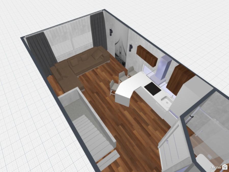 Simple House Garage 80043 by HEORHII image
