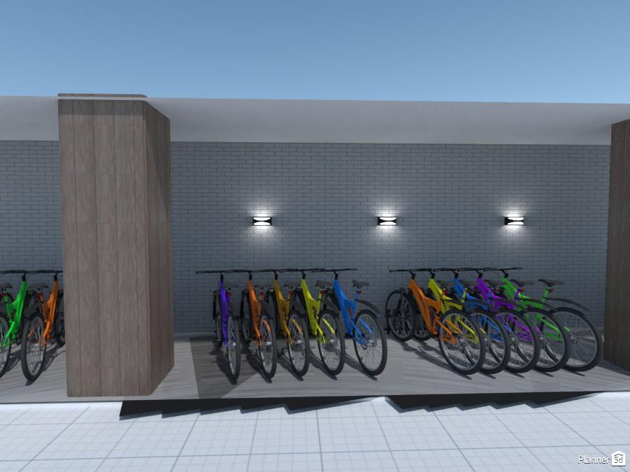 Bicicletário - Vista_6 3537880 by Juliana Moreira image