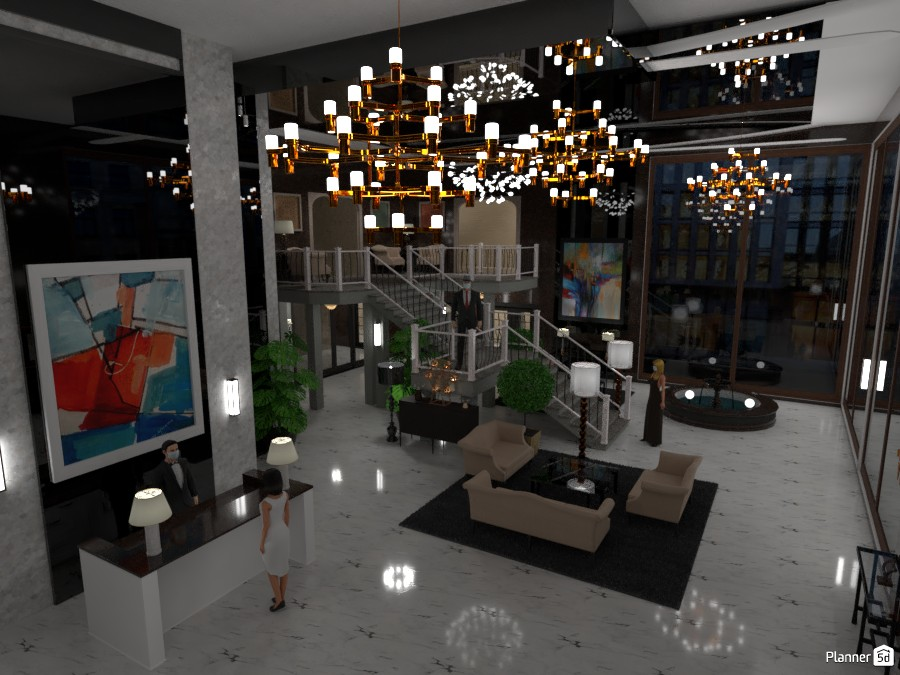 Hotel Lobby 3552875 by RLO image