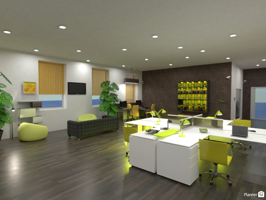 Contest office.  main room render #1 3529209 by Doggy image