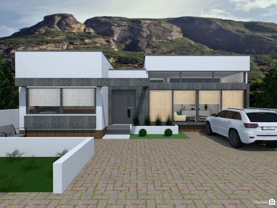 Architettura Case Moderne Idee.Conceito Moderno Brasil Idee Per Case Indipendenti Planner 5d