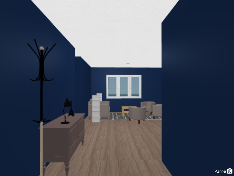 Navy Blue House 82025 by Taylor image