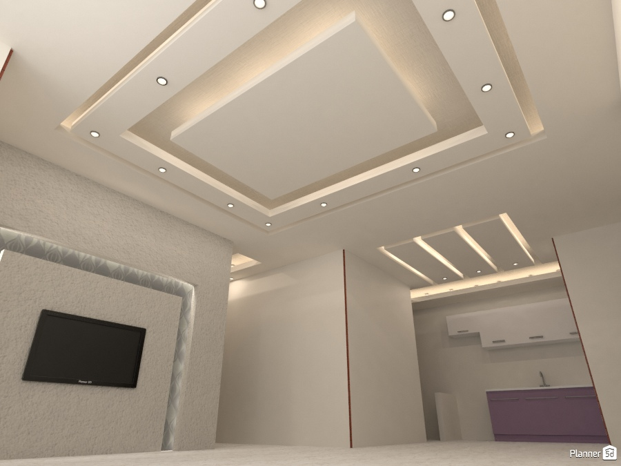 False Ceiling Design Free Online Design 3d House Ideas Khaled By Planner 5d