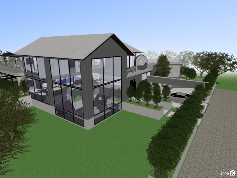 BIG MODERN HOUSE 71172 by Emil Karlsson image