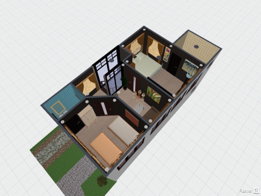 2-STOREY RESIDENTIAL HOME 74914 by Louie Dionela image