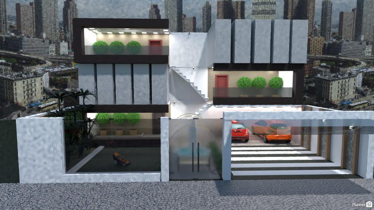 modern three storey townhouse 3168098 by MG image
