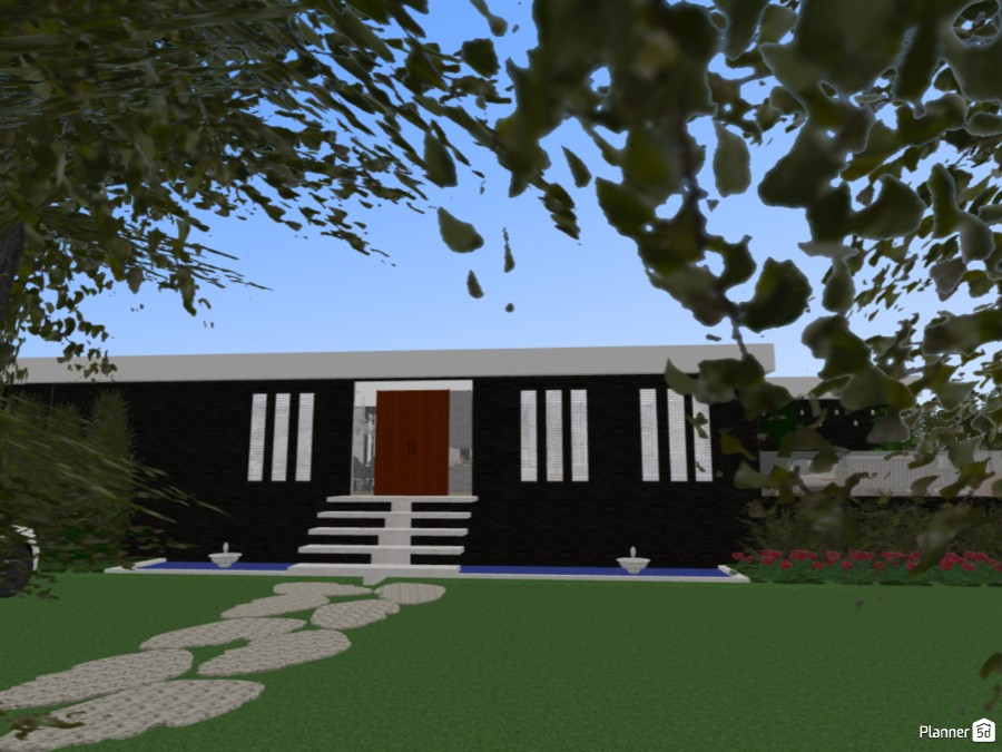 Modern House 70752 by MariaCris image