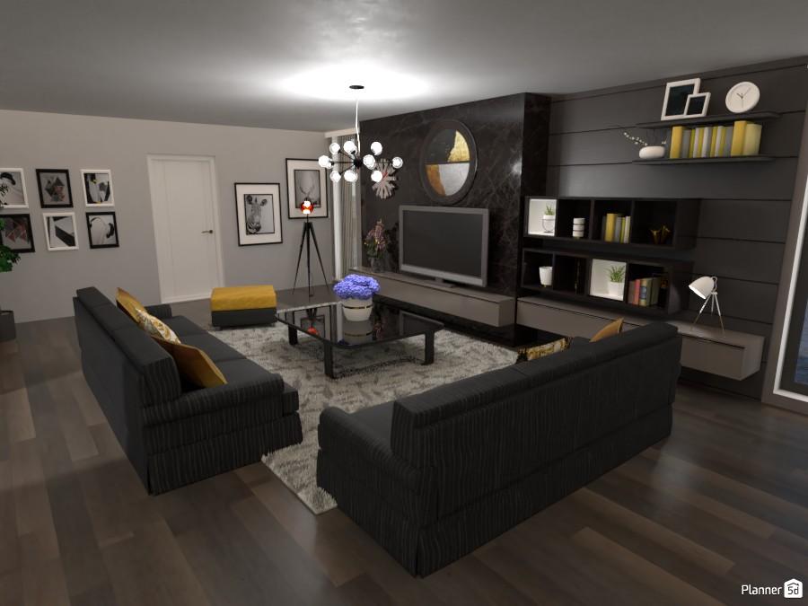 Glamour livingroom #1 3736209 by Micaela Maccaferri image