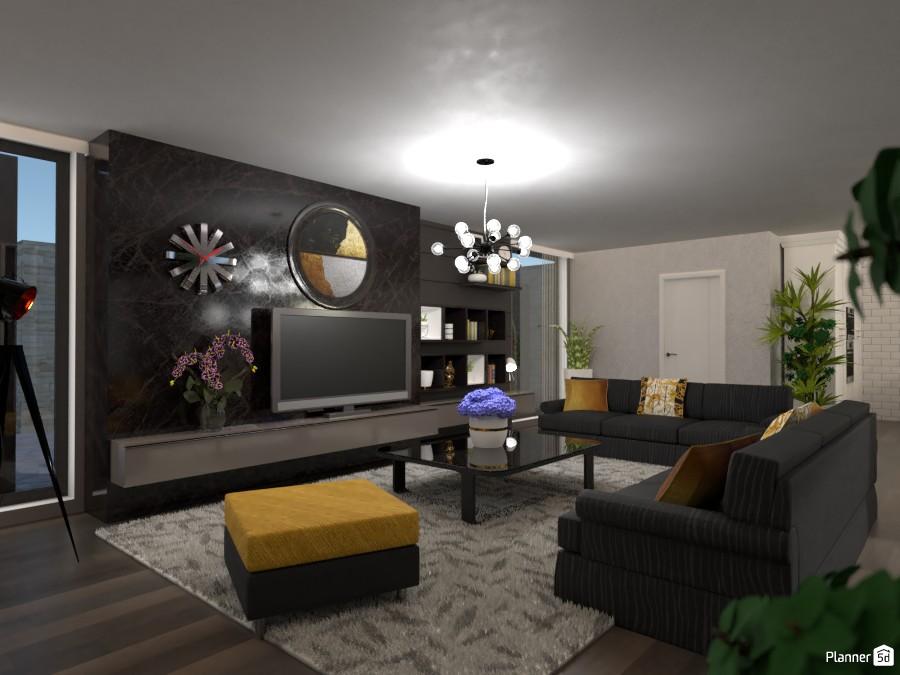 Glamour livingroom #2 3739299 by Micaela Maccaferri image