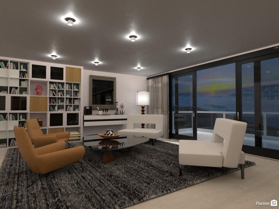 Glamout Livingroom #3 3758849 by Micaela Maccaferri image