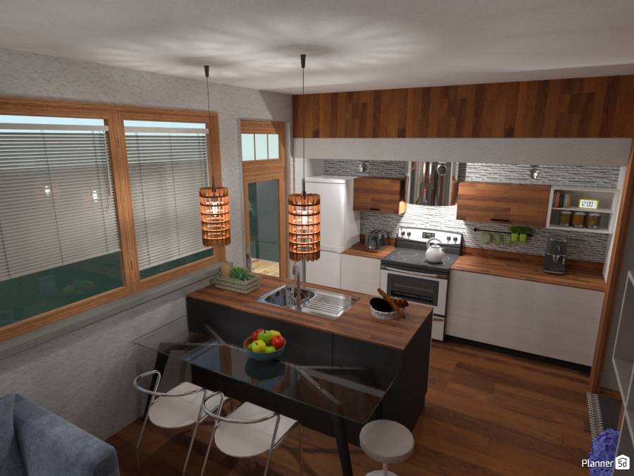 Tiny House: Kitchen 2345340 by Fede Lars image