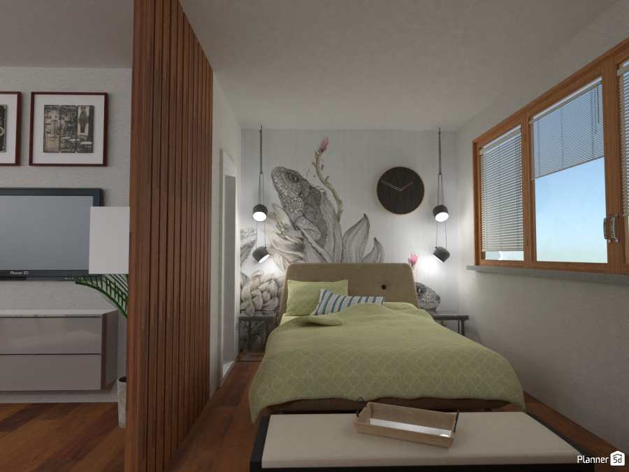 Tiny House: Bedroom 2345219 by Fede Lars image