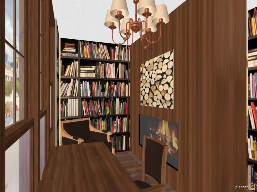 Домашняя библиотека 45860 by Apolinaria  Turinskaya image