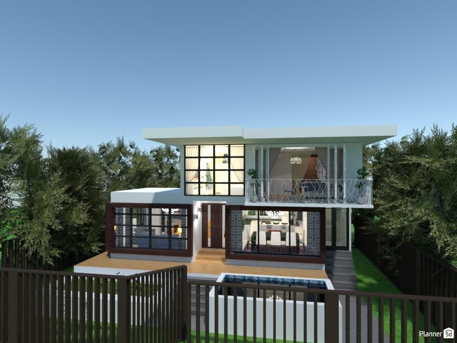 Casa moderna colombiana 3797986 by MariaCris image