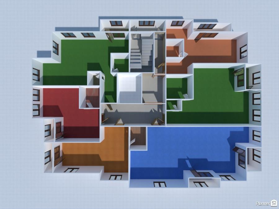 Поэтажный план 3613825 by Anonymous image