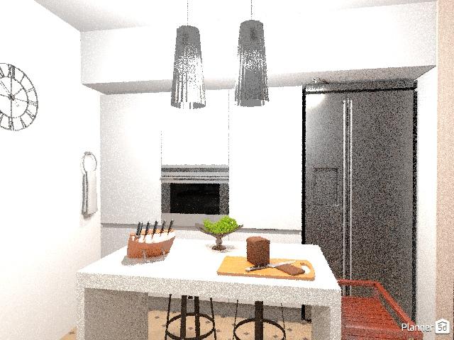 Apartamento 1 quarto estilo nórdico 71024 by Joyce Galone image