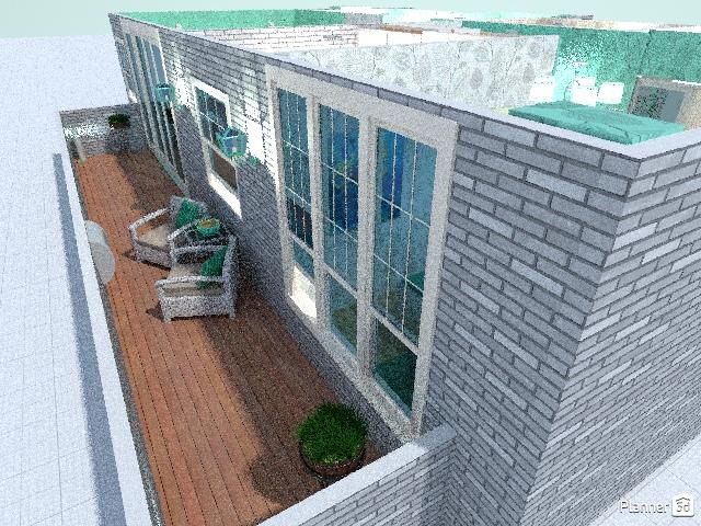 apartamento de estudiante turquesa 65853 by maria gonzalez herrero image
