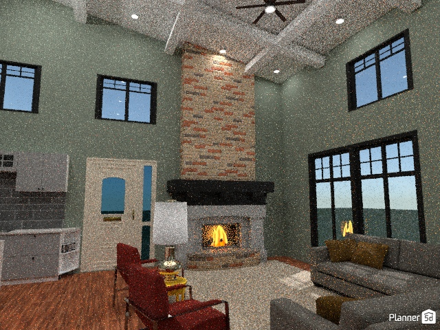 Vaulted ceiling house :) 78352 by Chloe Wolf image
