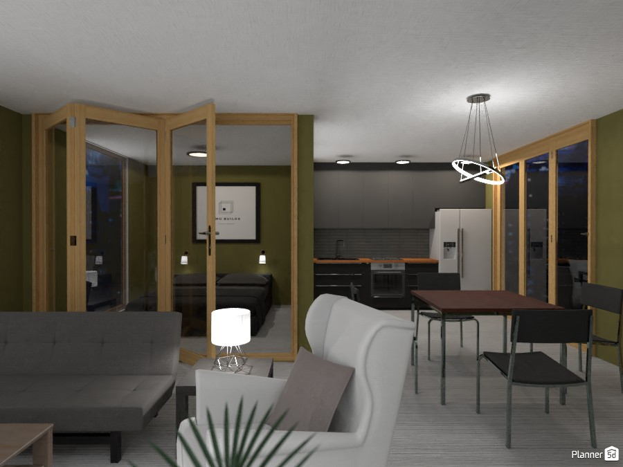 Modern studio in the city 3869349 by EMG Builds image
