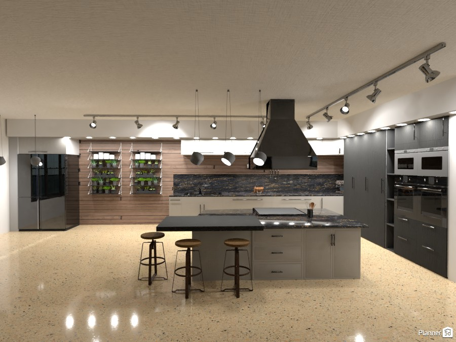 Industrial Kitchen - work in progress 3787928 by Andrea image