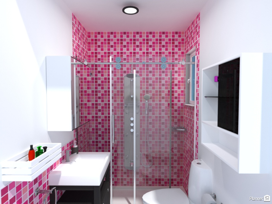 Baño Luminoso - Ideas de decoración - Planner 5D