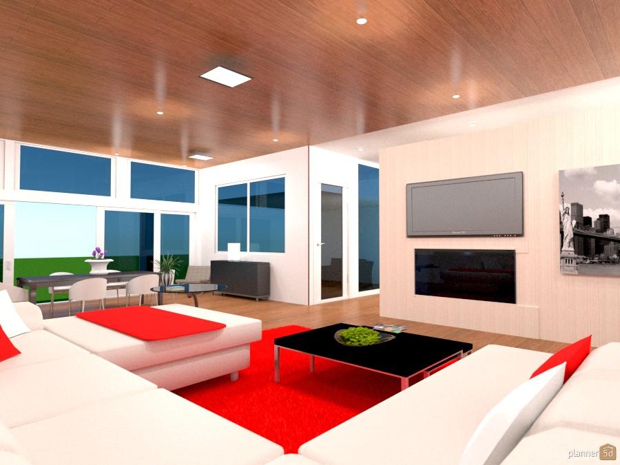 Living room + dining + kitchen 654945 by batel nadav image