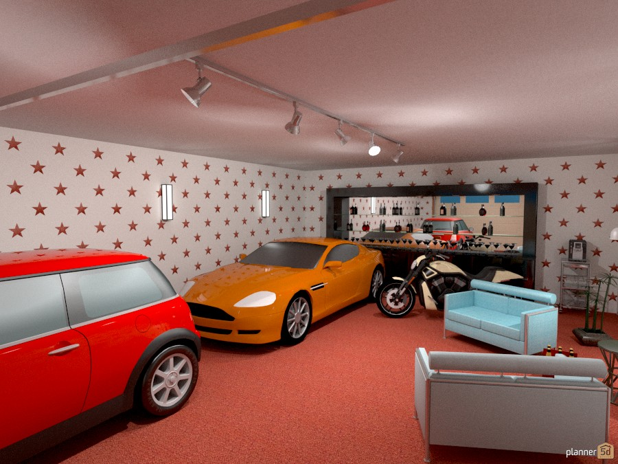 Garage for the lfestyle 716984 by John S. Smith image