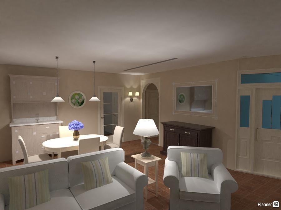 Salotto e sala da pranzo - House ideas - Planner 5D