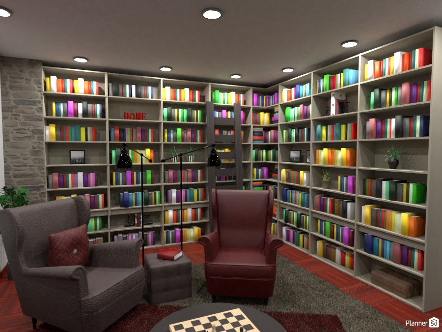 Contest: library at home 3701967 by Elena Z image