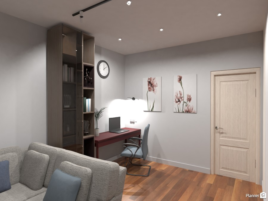рабочая зона в гостиной 3768824 by Ksenia image