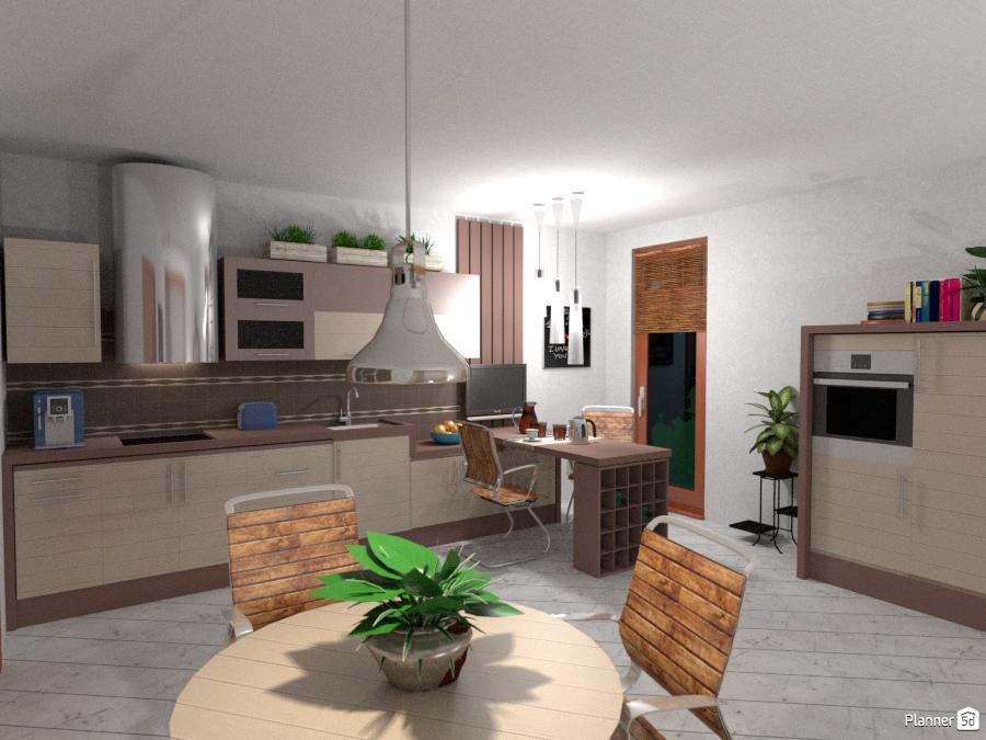 Primo Progetto 2017: Cucina #2 - Idee per il mobilio - Planner 5D