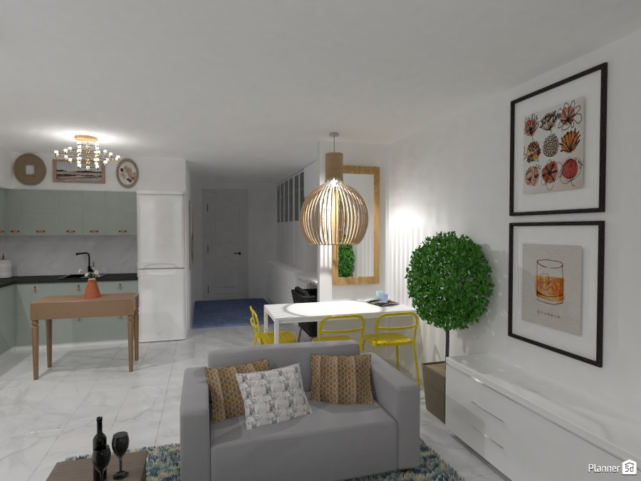 Living Space in Israeli Home 3461113 by Isabel image