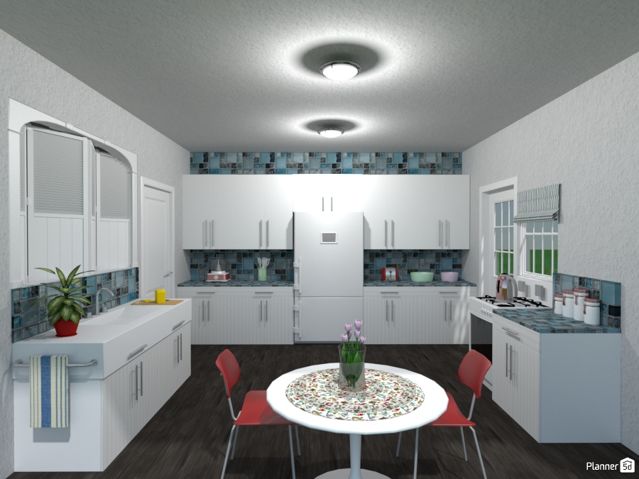 Update Of I Love Lucy Show Kitchen