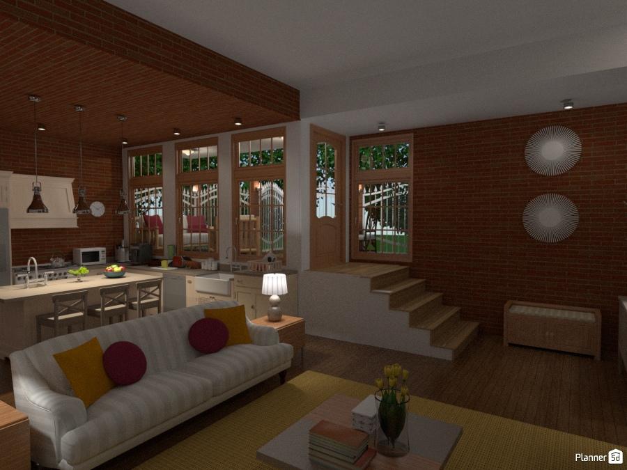 Muebles para casa de campo simple cocinas rusticas diseno - Muebles casa de campo ...