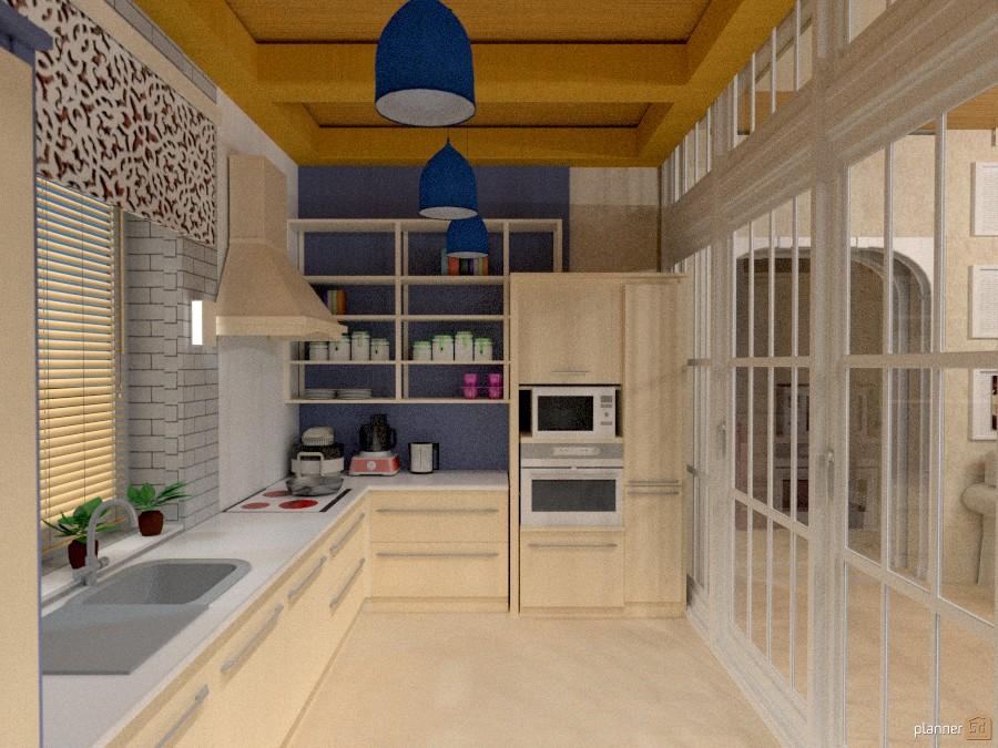 Кухня   apartment ideas   planner 5d