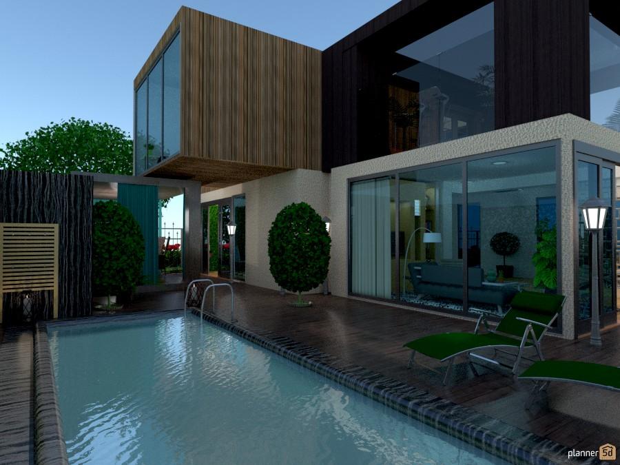 Modern House House Ideas Planner 5d