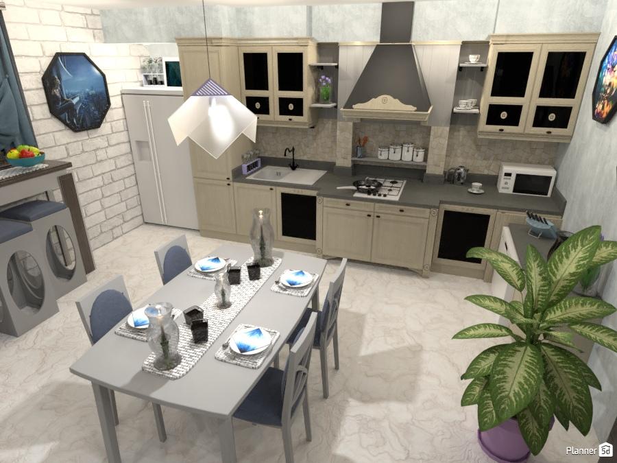 Grand Open plan compact modern - Apartment ideas - Planner 5D