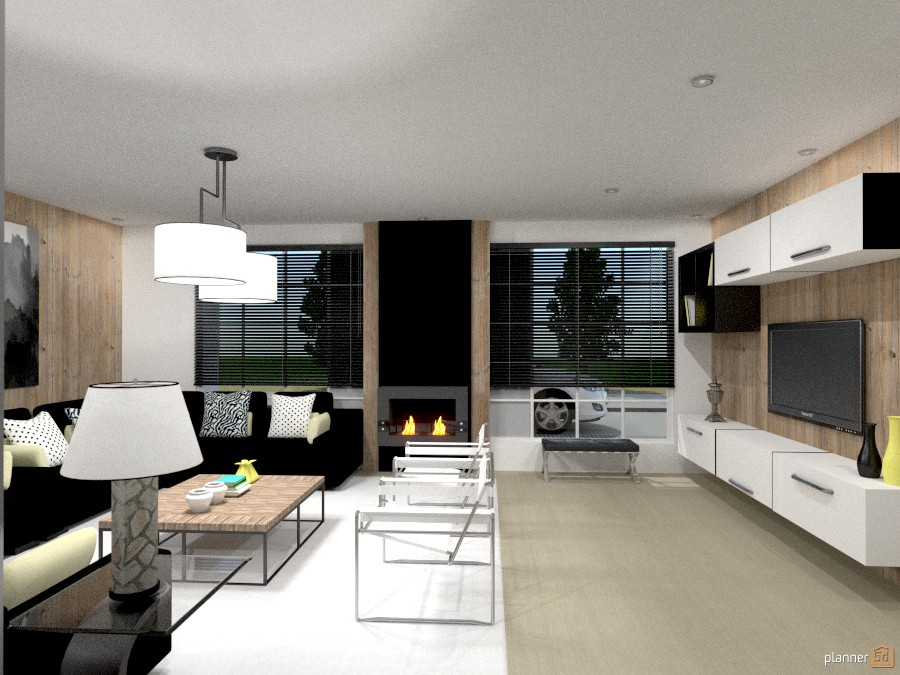 Modern house - Concept in Black 1252409 by Michelle Silva image