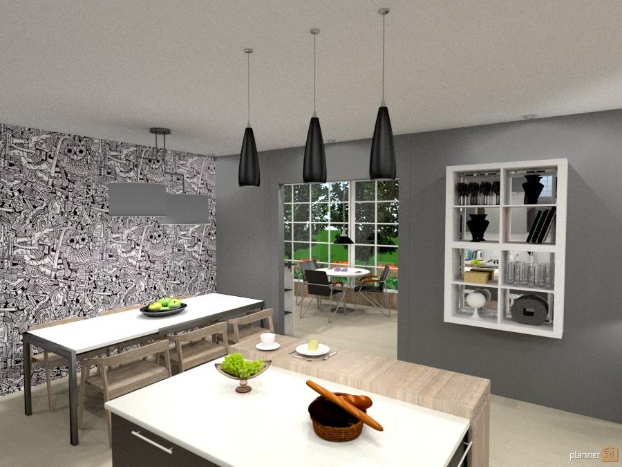 ideas house furniture decor diy kitchen outdoor lighting landscape cafe dining room ideas - Black Cafe Decor